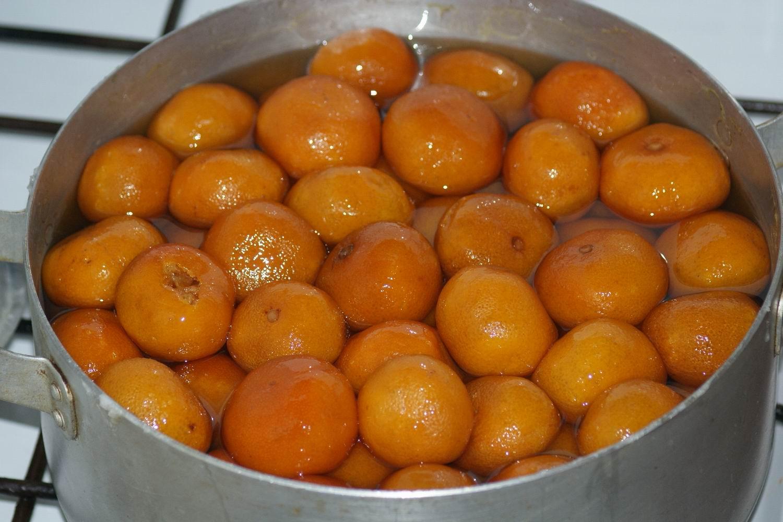 Мандариновое варенье рецепт пошагово в